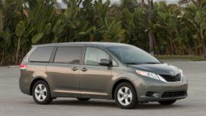 Toyota Sienna Minivans Defective Doors
