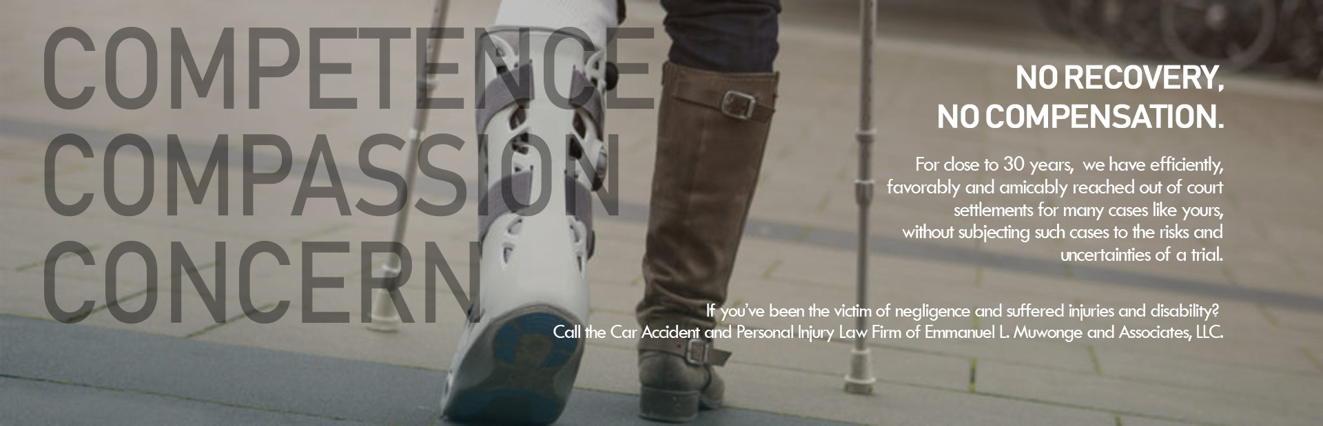 Call +1-414-933-4144 for Emmanuel L Muwonge Auto Collision Injury Attorney in Wauwatosa, WI